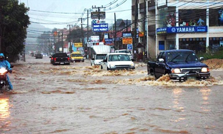 รถ-น้ำท่วม-เคลมประกันรถ