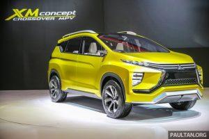 Mitsubishi-XM-Concept-mini-van-suv-in-motor-expo-2016