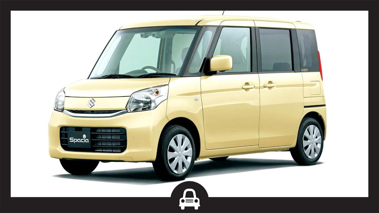 Suzuki Spacia-ซูซุกิ สเปเซีย-ซูซุกิทรงกล่องไม่เข้าไทย