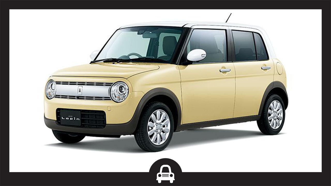 Suzuki Lapin -ซูซุกิ ลาพิน-ซูซุกิทรงกล่อง