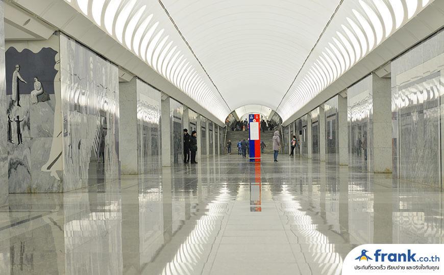 สถานีรถไฟ Dostoyevskaya