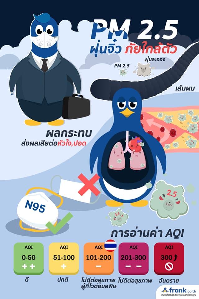 ฝุ่นพิษ PM 2.5 ที่คุณต้องรู้