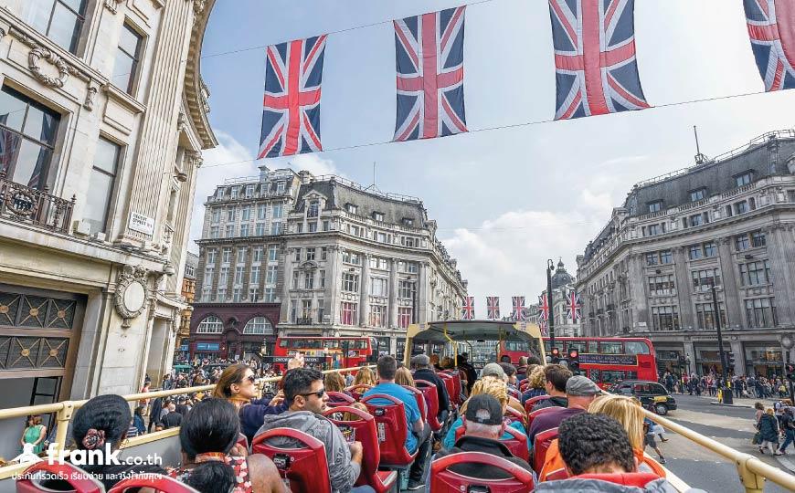 Brexit กระทบกับการเที่ยวอังกฤษ